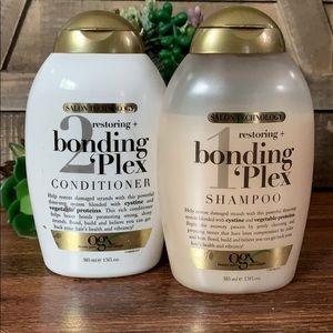 Bonding plex shampoo and conditioner